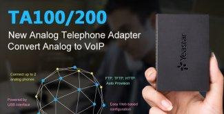 Yeastar: новые шлюзы TA100 и TA200 уже в продаже!