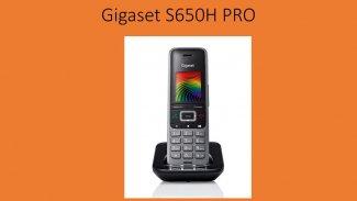 Gigaset S650H — новая трубка для бизнеса