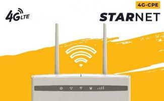 Wi-Fi роутер StarNet 4G-CPE — новинка для мобильного интернета