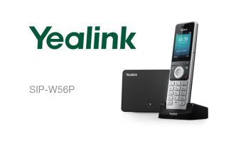 Новый DECT IP-телефон — Yealink W56P