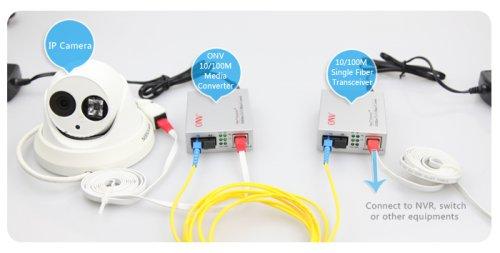 Медиаконвертер WDM ONV0110S-SCX-O (пара, A-B)