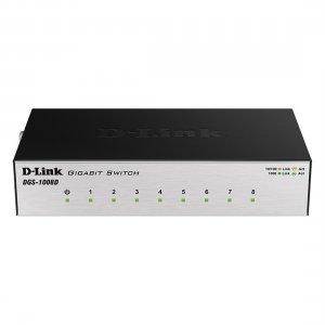 Коммутатор D-Link DGS-1008D/J3