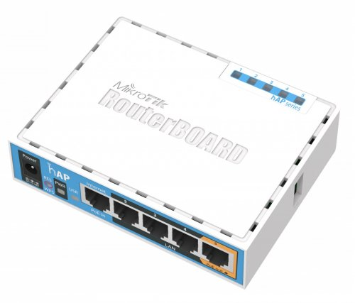 Маршрутизатор с VPN MikroTik RB951Ui-2nD