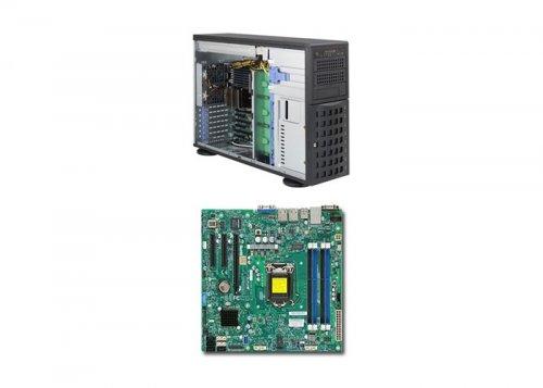 Supermicro X11SSL-F/ SC733T-500 Black 1220