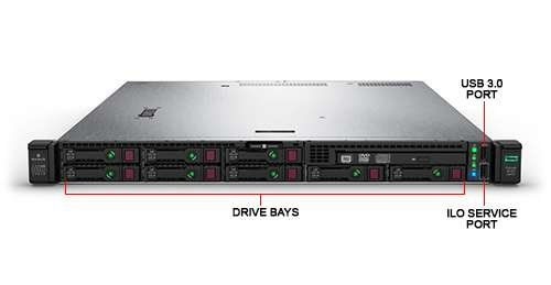 Сервер HP Enterprise DL325 Gen10 (P04647-B21)