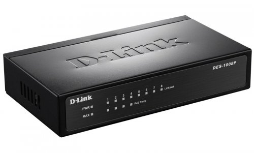 PoE-коммутатор D-Link DES-1008P/C1A