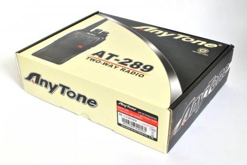 Рация портативная AnyTone AT-289 (U)