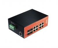 Управляемый коммутатор Wi-Tek WI-PMS312GF-I