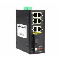 Коммутатор PoE индустриальный 4-портовый ONV IPS31084PF-M