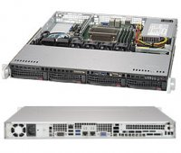 Supermicro X11SSL-F/ SC813MFTQC-505C Black 1220