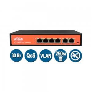 Коммутатор PoE Wi-Tek WI-PS505V